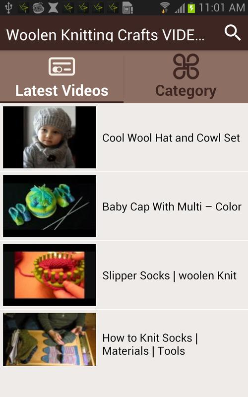 Knitting For Dummies Free Download : Woolen knitting crafts videos apk download free