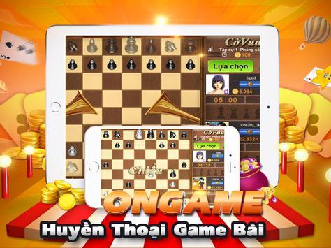 Ongame Cờ Vua (game cờ) apk screenshot