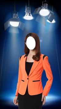 Woman Fashion Photo Suit poster