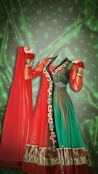 Woman Salwar Suit Photo Maker poster