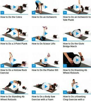 Women Ab Workouts apk screenshot