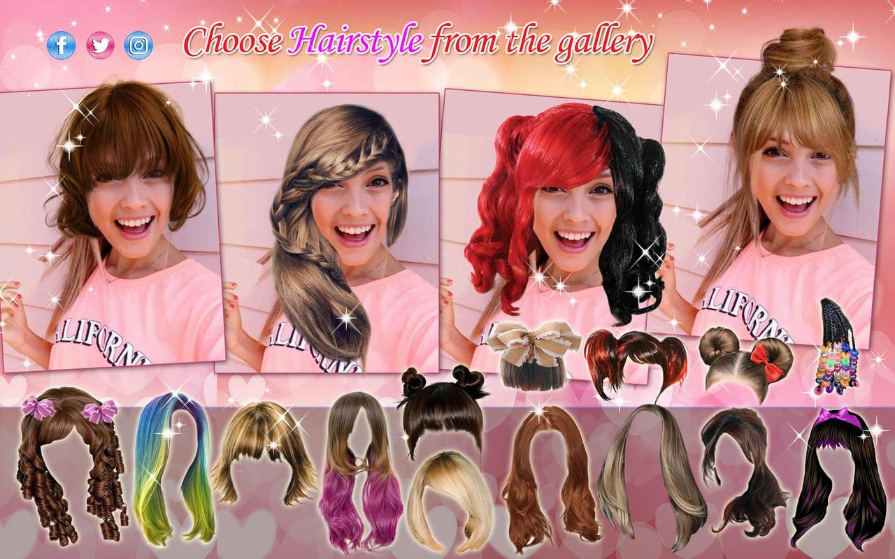 Women HairStyles 2018 💇 Hair Color Photo Editor APK Download - Free ...