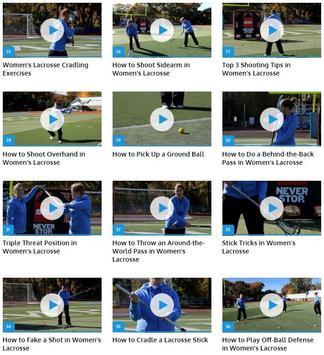 Women's Lacrosse apk screenshot