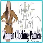 Women Clothing Pattren icon