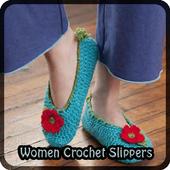 Women Crochet Slippers icon