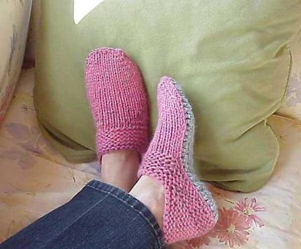 Women Crochet Slippers screenshot 2