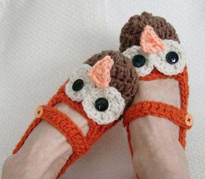 Women Crochet Slippers screenshot 3