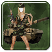 Women Army Suit Maker icon