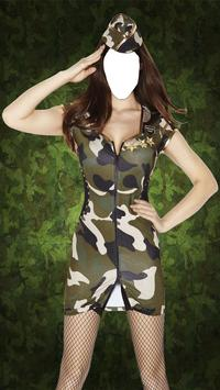 Women Army Suit Maker poster