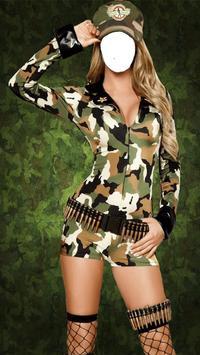 Women Army Suit Maker apk screenshot