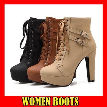 Women Boots Designs poster