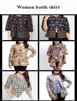Modern Batik Clothes poster