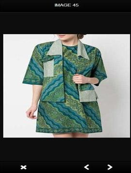 Modern Batik Clothes apk screenshot