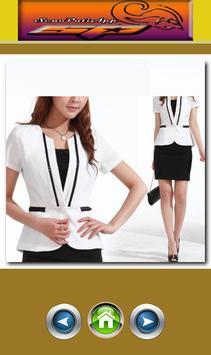 Women Blazer Design apk screenshot