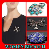 Women Brooch Designs icon