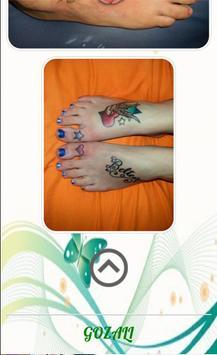 Women Foot Tatto screenshot 3
