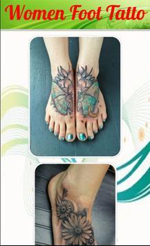 Women Foot Tatto screenshot 1