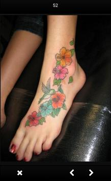 Women Foot Tatto screenshot 2