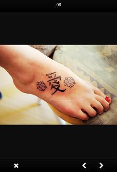 Women Foot Tattoo screenshot 2