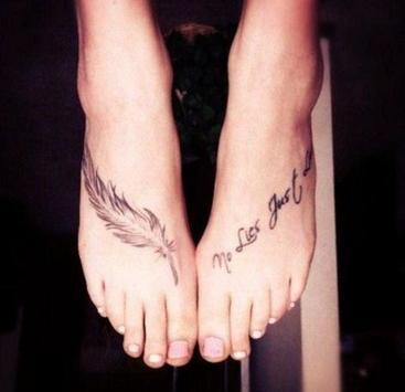 Women Foot Tattoo screenshot 4