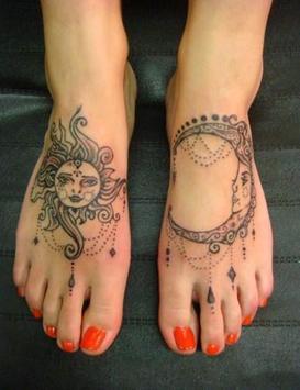 Women Foot Tattoo screenshot 5