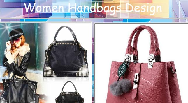 Women's Handbags Design poster