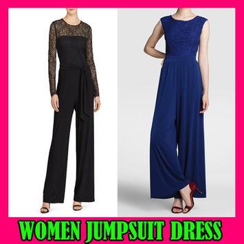 Women Jumpsuit Dress poster