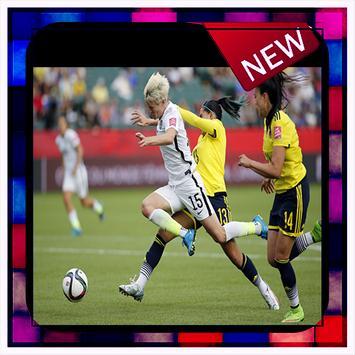 Women Soccer Manager Wallpaper 2018 poster