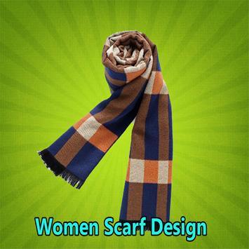 Women Scarf Design poster