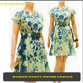 Women's Party Dress Design icon