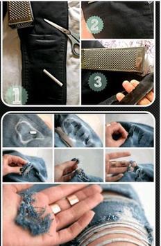 Women Ripped Jeans Tutorial apk screenshot