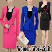 Women Work Suit icon