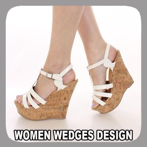 Women Wedges Design poster