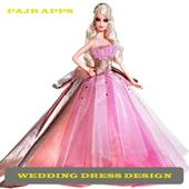 Women's Wedding Dress Design icon