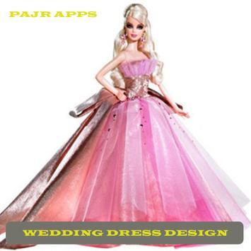 Women's Wedding Dress Design poster