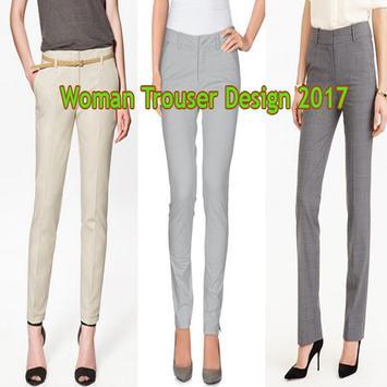 Woman Trouser Design 2017 poster