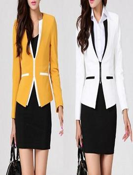 women's blazer fashion apk screenshot