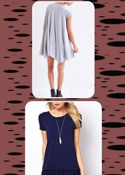 Womens Tshirt Dress screenshot 2