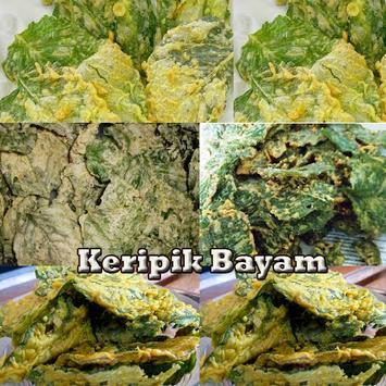 Keripik Bayam apk screenshot