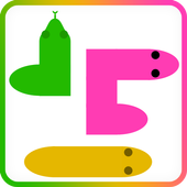 worm and snake games icon