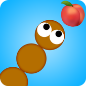 worm crawling game icon