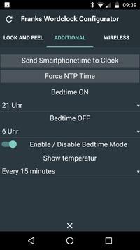Wortuhr Konfigurator screenshot 1