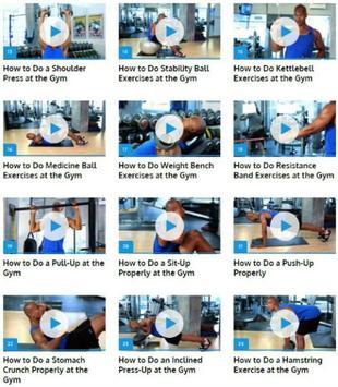 Gym Workout apk screenshot