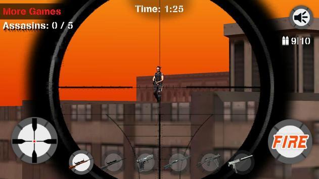 Sniper City Assassin Challenge apk screenshot