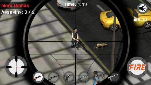 Sniper City Assassin Challenge poster