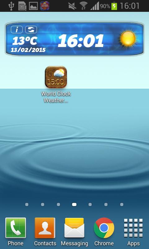 507fbf75da4 Relógio Mundial Widget Tempo para Android - APK Baixar