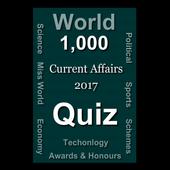 World Current Affairs 2017 Quiz icon