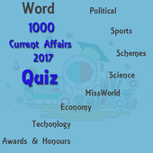World Current Affairs 2017 Quiz icon