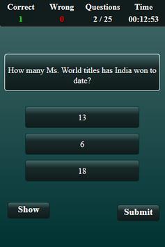 World Current Affairs 2017 Quiz screenshot 3