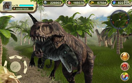 T-Rex Simulator Dinosaur King apk screenshot